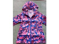 Lovely floral summer rain mac aize 6-7 years