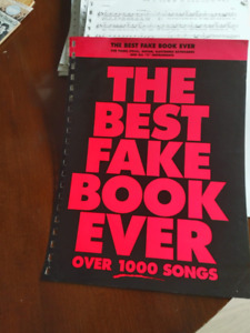 Music book . Huge.  It is called The Fake Music Book/over 1000