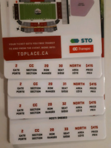 Grey Cup Tickets - face value