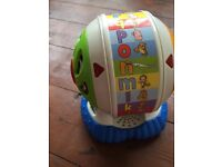 Leapfrog Spinning Alphabet toy