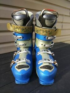 Heads S8 Ski Boots (Blue/Gray) - Size 9