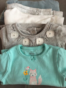 Carter's baby clothes set of 5, 12 months