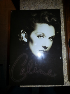 Programme Celine Dion Falling into you around the world program