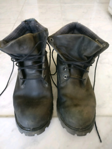 Men's Leather Authentic Timberland Boots | Size 12