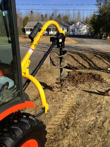 Post hole digging Greater Fredericton Area