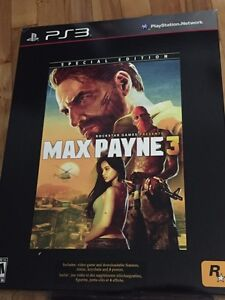 PS3 Max Payne 3 NO GAME INCLUDING