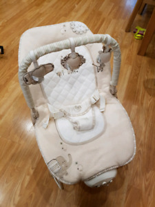 Baby bouncer natures purest brand