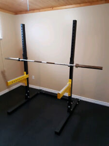 Northern Light Heavy Duty Half Power Squat Rack no weight bar
