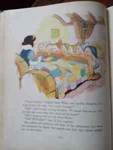 1937 Snow White And The Seven Dwarfs With Color Drawings Kitchener / Waterloo Kitchener Area image 6