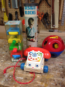 Four Vintage Toys from the 1970s.