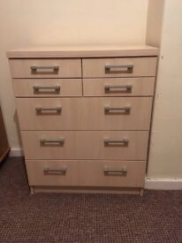 Oak Chest Drawer (can deliver)
