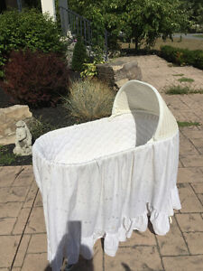 Wicker Bassinet Peterborough Peterborough Area image 1