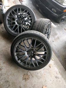 17 Inch MSR rims and tires