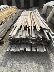 1x2 Pine PILE - LUMBER CLEAROUT