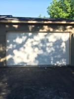Garage door services and repair
