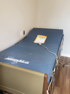 Hospital Bed with Air mattress