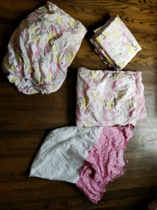 Baby Girl Crib Set