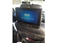 DVD headrests