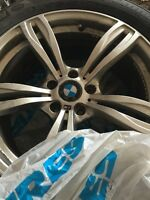 4 Michelin winter tires with rims