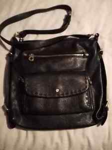 CO LAB BLACK OVER SHOULDER PURSE!!