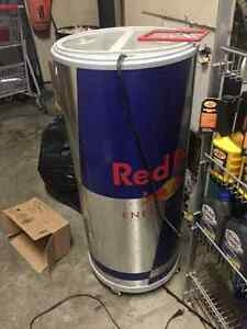 Electric Red Bull cooler