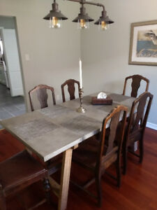 Designer dining table for sale - MOVING OUT SALE!!