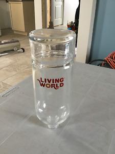 Bouteille eau Living world 26oz Lapins!