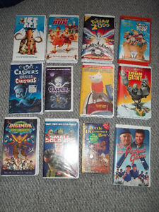 Many VHS for sale!