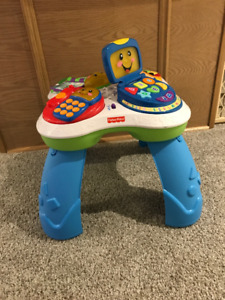 Fisher price laugh and learn music table