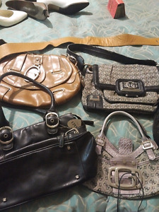 Purses and shoes!