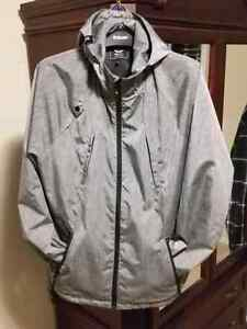 Men's large LRG spring/summer shell hooded jacket.