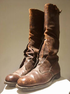 WW1 Canadian / British Officer boots