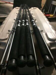 4 Mint Daiwa Trolling Rods