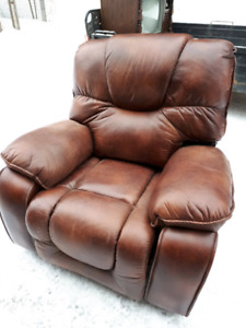 Fauteuil inclinable cuirette
