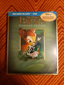 Bambi Diamond Edition Bluray STEELBOOK SEALED MINT