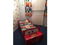 Disney cars toddler duvet set and curtains