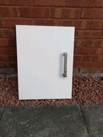 White gloss kitchen doors