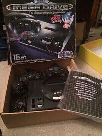 Boxed Sega Megadrive console