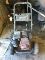 KARCHER 3000 PSI 2.5GPM Powered By Honda Pressure Washer