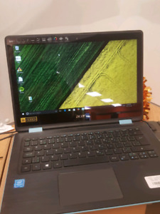 "Acer spin convertible  13.3"" touch screen"