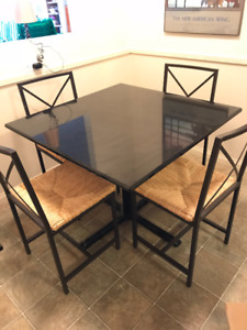 Granite Kitchen Table And 4 Chairs