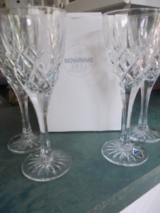Crystal Glasses - Cortina - from Bowring