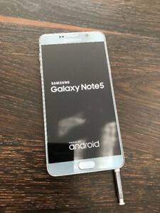 Rogers SAMSUNG NOTE 5 great condition