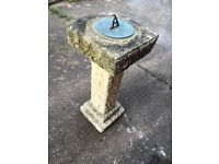 Concrete SUNDIAL , lovely add on to your garden
