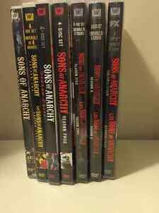 Sons of Anarchy DVD set 1-7