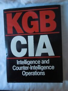 KGB-CIA Intelligence & Counter Intelligence Operations