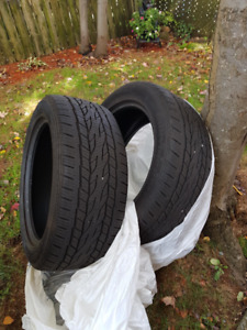255-50-R19 - all season tires (x2)