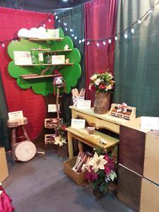 Freestanding Tree Shelf and Cloud Shelves