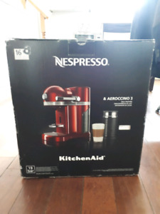 KitchenAid Nespresso Machine
