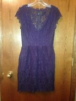 Size 8 purple babaton Aritzia dress